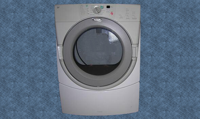 Whirlpool Duet Dryer GEW9250PW0